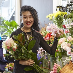 Iain Stephens Floral:  Blossoming in Remuera